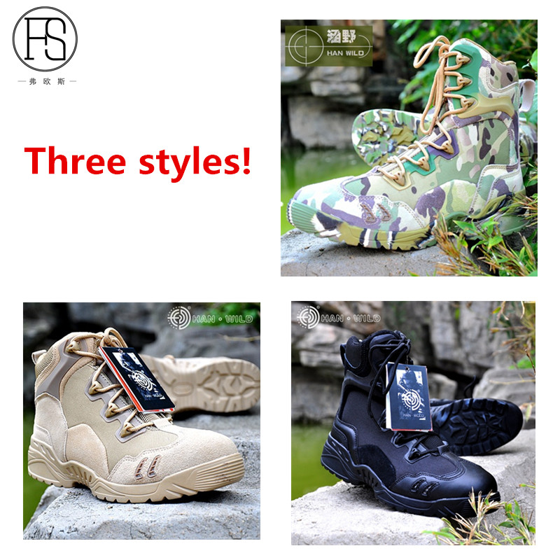 Hot Sale Three Styles Outdoor Sport Boots Men Hunting Mountain Hiking Shoes Breathable Camping Trekking Climbing Sneakers Botas sale outdoor sport boots hiking shoes for men brand mens the walking boot climbing botas breathable lace up medium b m