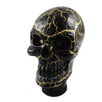 X Autohaux Car Auto Universal Manual Wicked Carved Skull Head Gear Stick Shift Knob Shifter