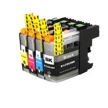 цена на 4pcs For Brother  Ink Cartridge LC663 For Brother MFC-J2720 MFC-J2320 Printer lc 663