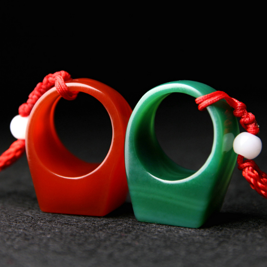 2pcs/set Red green Chinese finger ring Stamp Name Seal Stamper for lovers hand carft engraving paintint seal Art craft2pcs/set Red green Chinese finger ring Stamp Name Seal Stamper for lovers hand carft engraving paintint seal Art craft