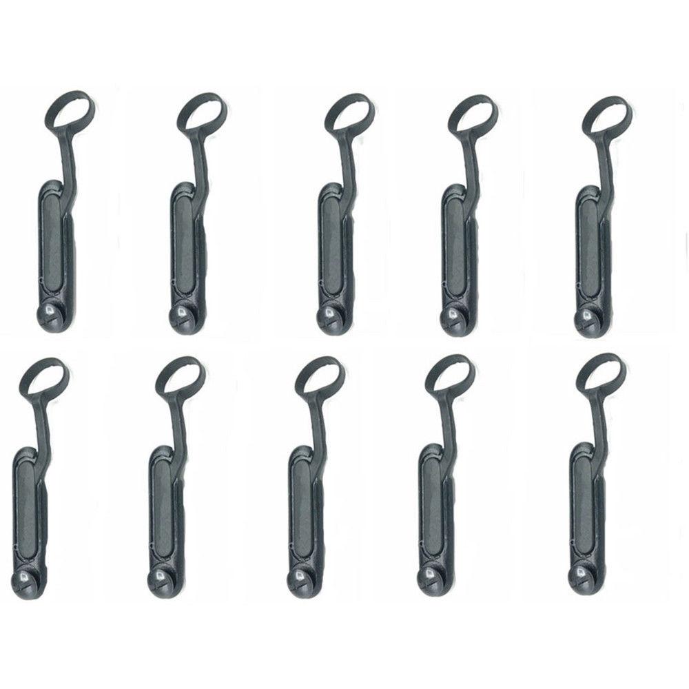 10 xDust Couvercle Latéral pour Motorola GP340 GP328 GP338 GP360 GP380 GP540 GP580 GP640