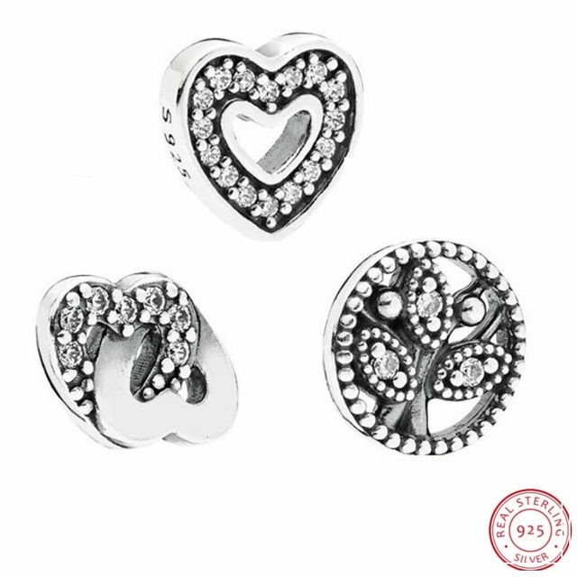 692febd9c Entwined Love @ Captured Heart & Family Heritage Petites Beads DIY Fit Pandora  Floating Locket Charms Silver 925 Original FLS001