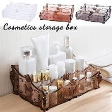 Acrylic Makeup Storage  Box Cosmetic Organizer Drawer Holder Clear Storage Case Jewelry цены онлайн