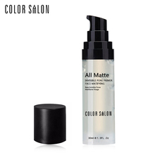 Color Salon Smoothing Face Base Primer Natural Matte Finish Refine Skin Prolong Makeup Reduce Appearance of Pores Oil-control