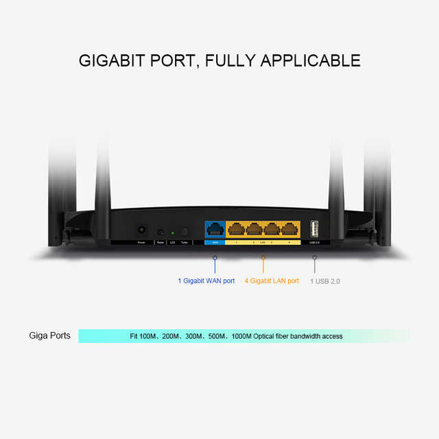 US $56 75 41% OFF|TP LINK TL WDR7500 V8 0 Archer C7 Gigabit Wireless Wifi  Router 2033Mbps 11AC Dual Band TP Link WDR7500 Roteador USB support-in