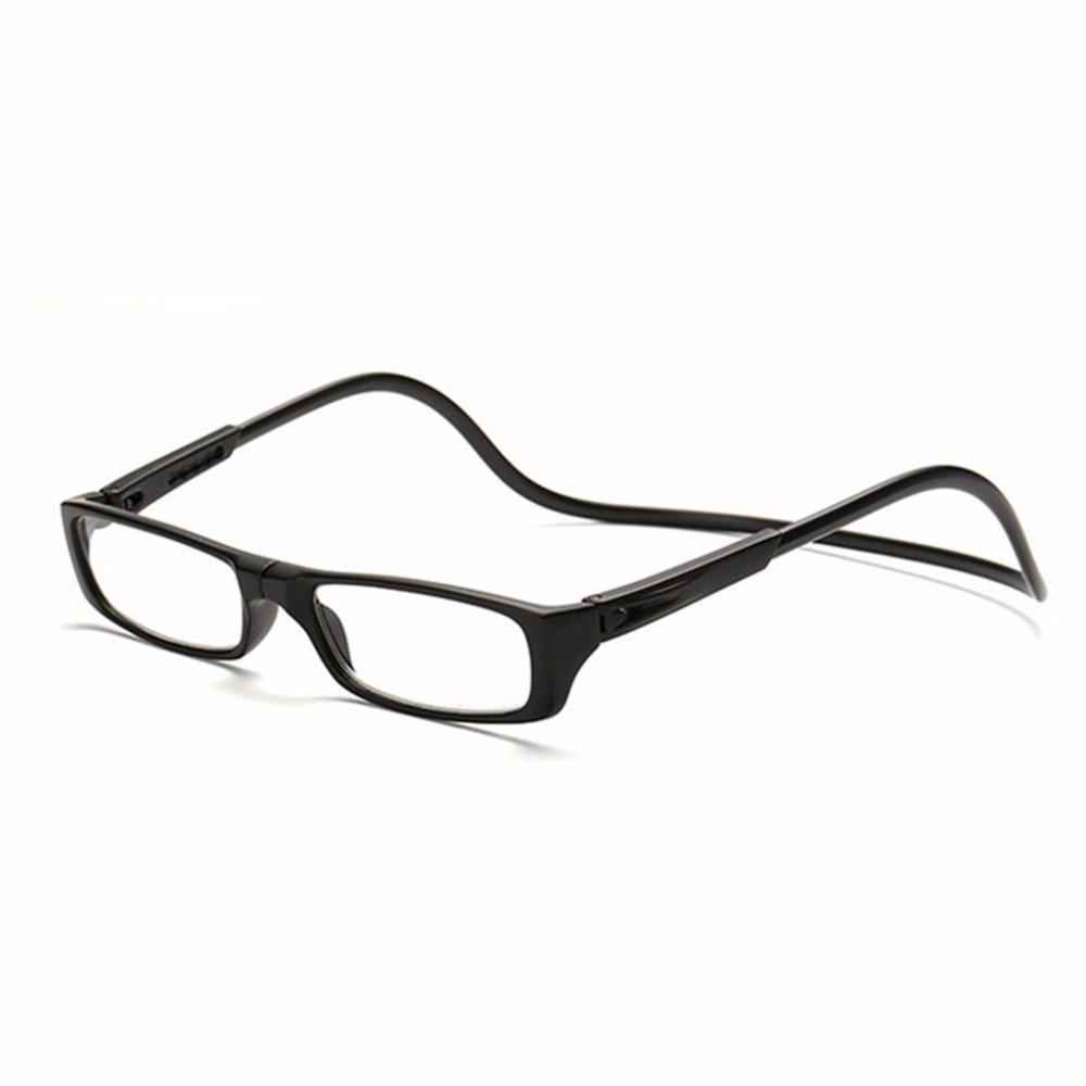 Upgraded Unisex Magnet Reading Glasses Men Women Colorful Adjustable Hanging Neck Magnetic Front presbyopic glasses -Y107 1