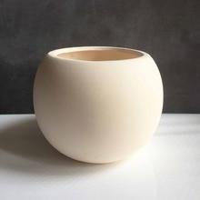 Silicone Mold Nordic Wind Apple style Succulent Plants Pottery Cement Flower Pots 3d Vase Flower Pots Mould Silica Gel PRZY 001