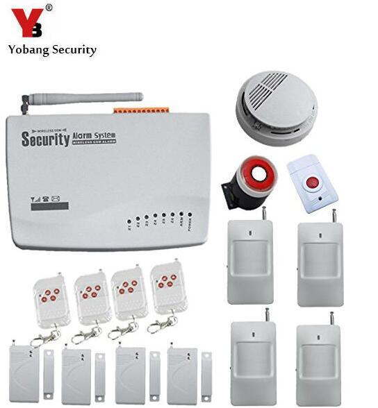 Yobang Security Freeship GSM Intelligent Alarm System Wireless GSM alarm system,Remote Two-Way Intercom Wireless Tri-Band Alarma салфетка vileda актифайбр