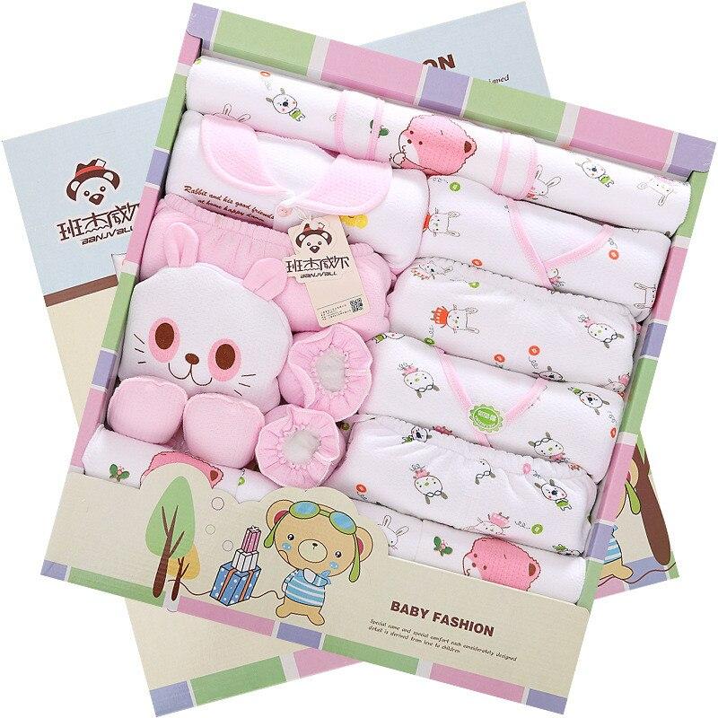 ФОТО with blanket winter baby cotton underwear suit unisex newborn clothes newborn clothes cotton set  jhlwx