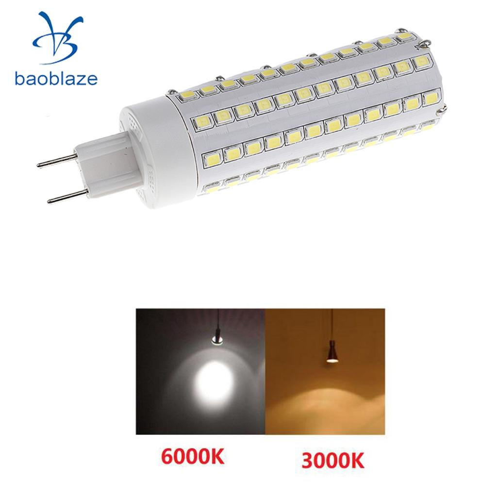 12W G8.5 LED Corn Light Bulb Replacement for Halide Lamp 25x100mm