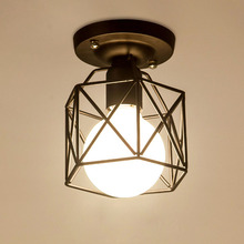 vintage iron painted ceiling light for home decoration wholesale price