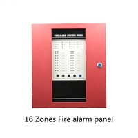 Free DHL Shipping Fire Alarm Control Panel 16 Wire Channel Security Protection Easy Installation English Manual