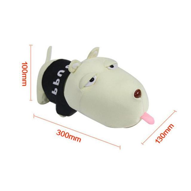 Car Accessories Cartoon Dog Plush Toys Car Decoration Bamboo Charcoal Bag Purify Auto Air Freshener Lessen Radiation Deodorant