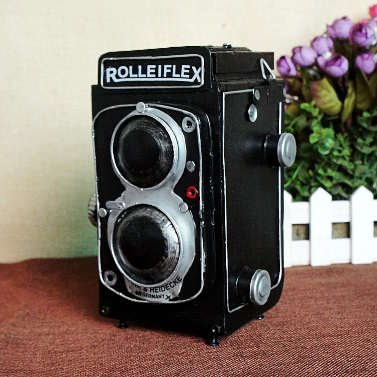 ZAKKA Resin Camera Creative Retro Photo props archaize Home Decoration Crafts Gifts 13058