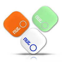 2015 New Arrival Nut 2 Smart Tag Bluetooth Tracker Child Pet Key Finder Alarm Locator Multitasking