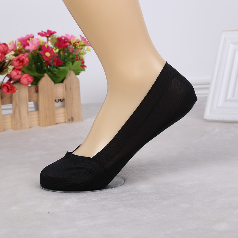 Fashion Solid Color Short Sock Slippers Woman Summer Low Ant