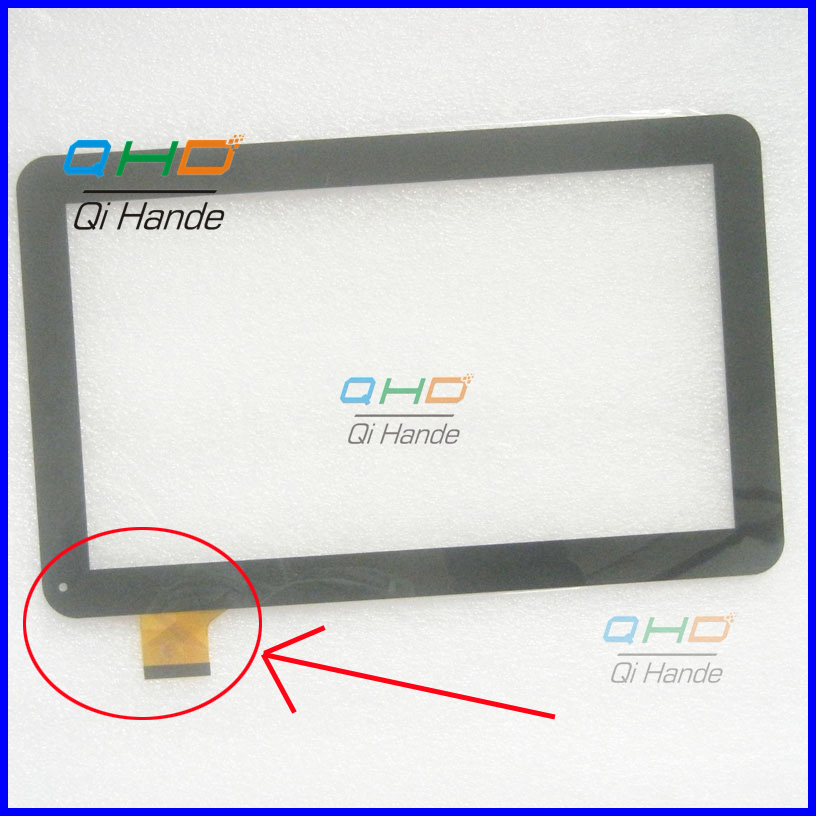 Note the cable , Black New 10.1'' inch Digitizer Touch Screen Panel glass For Digma ids10 / TURBOPAD 1014 ycf0464-aTablet PC the new limited special new nt620c st141 touch screen touch the glass lens