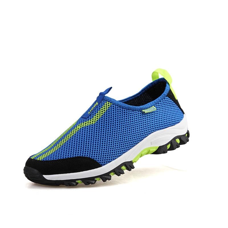 Breathable Mesh Women Sneakers Summer Slip On Sports Walking Shoes Male Female Botas Deportivas Mujer Wear Resistance Footwear