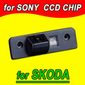 CCD Rearview back reverse camera for VW volkswagen SKODA OCTAVIA ROOMSTER TOUR Fabia waterproof NTSC PAL( Optional)