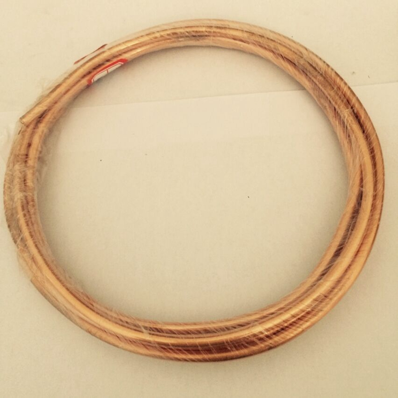 10x1.5mm 1 meter Soft Coil Copper Tube Air Conditioner Refrigeration Systems DIY accessories 10x1mm soft coil copper tube pipe air conditioner refrigeration systems