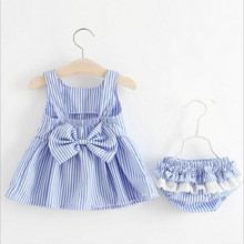hot deal buy newborn baby dresses girl dress 2pcs dress+  shorts toddler tutu dresses kids clothes set girls clothing sets infants
