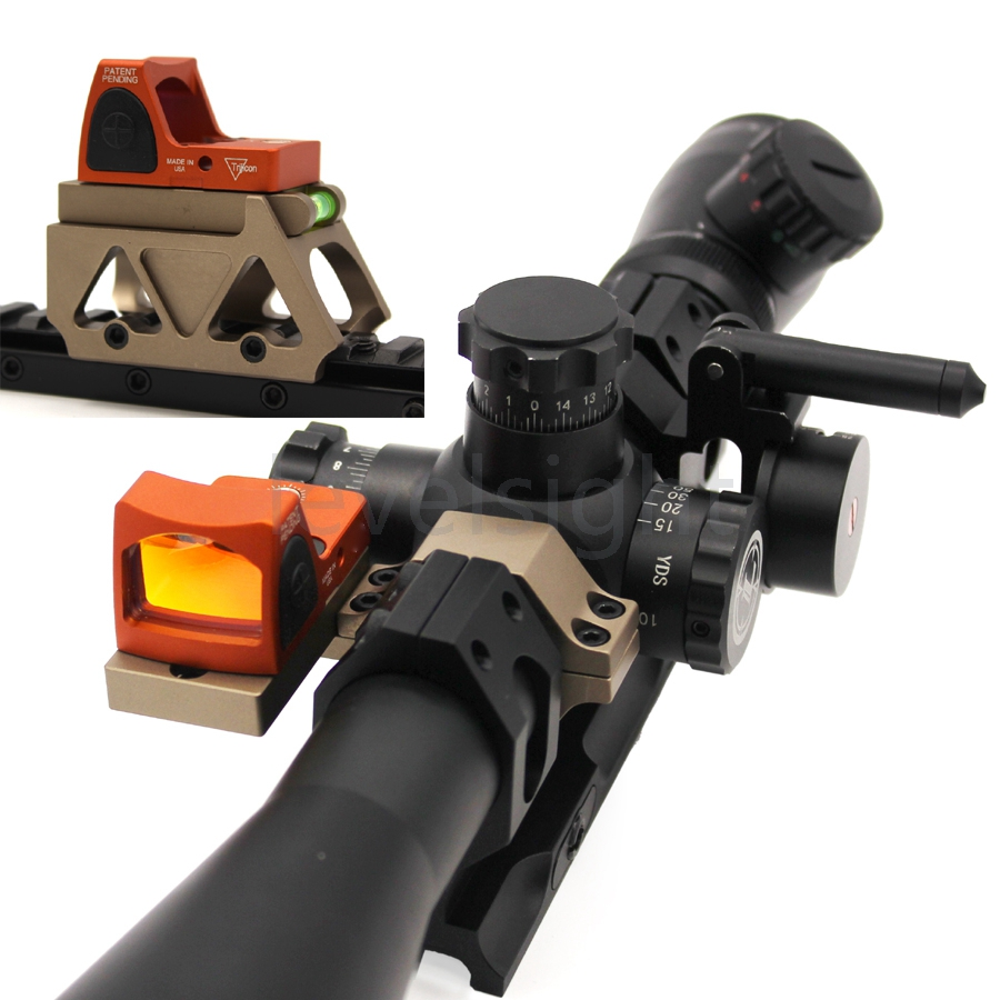Red Dot Sight 20mm Rail Mount for DOCTER/RMR/DP PRO/T1/T2 Sight Scope Mount picatinny Rail With Riser image