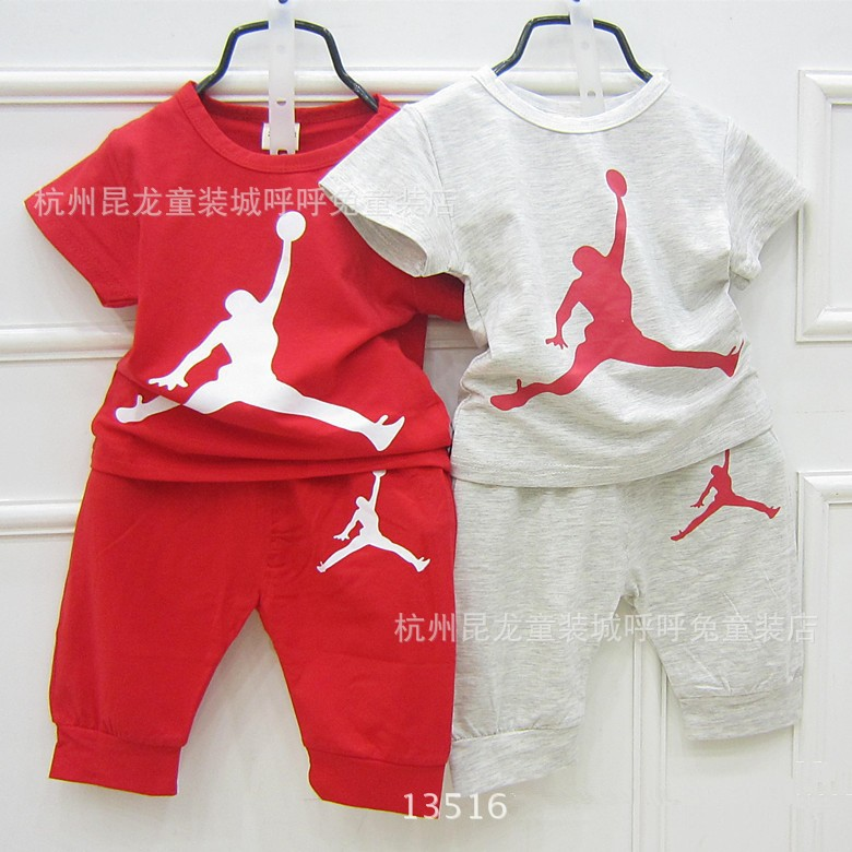 Baby Girl Jordan Clothes Awesome New Summer Children Boys Girls Brand Clothing Tracksuits Kids Fashon