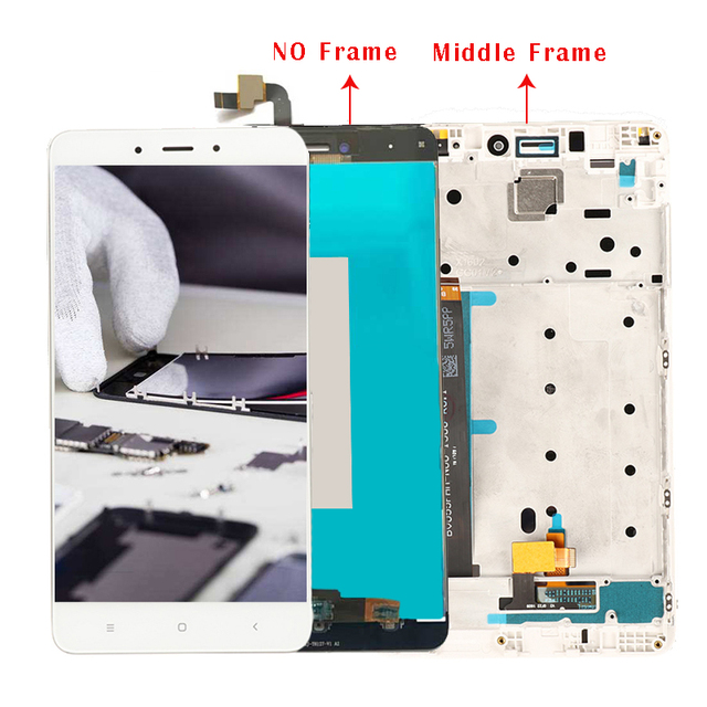 Redmi Note 4 LCD Display Screen Helio X20 Tested AAA Touch Screen with Frame for Xiaomi Redmi Note 4X Pro Prime MTK Helio X20