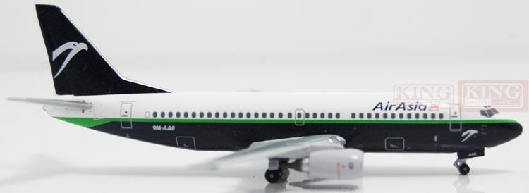 Aeroclassics Asian aviation 9M-AAB 1:400 B737-300 commercial jetliners plane model hobby