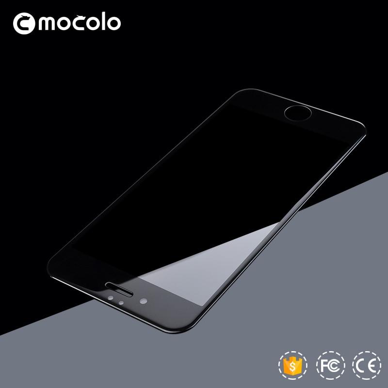 İPhone 7 üçün MOCOLO 9H 0.26mm 2.5D əyri kənarlı örtülmüş - Cib telefonu aksesuarları və hissələri - Fotoqrafiya 4