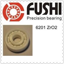 6201 Полный керамический подшипник (1 предмет) 12*32*10 мм ZrO2 Материал 6201CE все циркония керамические шарикоподшипники