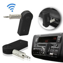 Neue Drahtlose Bluetooth Musik Empfänger Adapter Audio 3,5mm Stereo A2DP Musik Streaming Auto Kit für Auto AUX IN Home lautsprecher MP3(China)