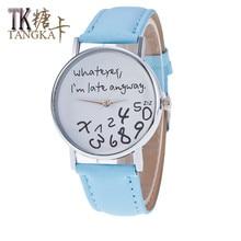 2017 New Fashion Brand Women Watches Ladies Casual Quartz Wrist watch Strap Student Clock relogio feminino