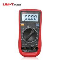 LCD Dijital Multimetreler UNI-T UT890D Dijital Multimetre True RMS AC/DC frekans Ampermetre Multitester