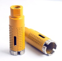 1 3/8'' 35mm Diamond electroplated dot Protection diamond core drill bits for stone granite inside protection Hole saw