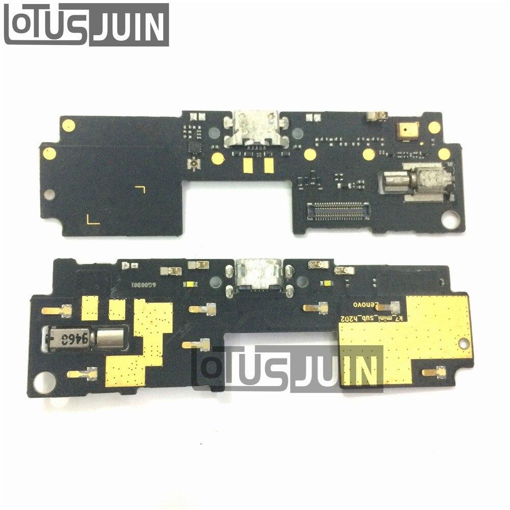 1 PCS Original Nouveau Pour Lenovo Vibe Z2 5.5 pouce USB Port de charge Chargeur Dock Connecteur Flex Câble Remplacement de la Carte pièces