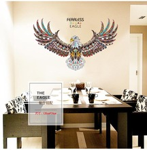 The Eagle Wall Stickers For Kids Room Removable Vinyl Decals Rame 3D Decoration Diy On Poster Rooms