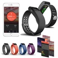 fashion Bluetooth Bracelet Smart Wristband Heart Rate Monitor Wristband Fitness Track For IOS Android Smart bracelet HOT SALE