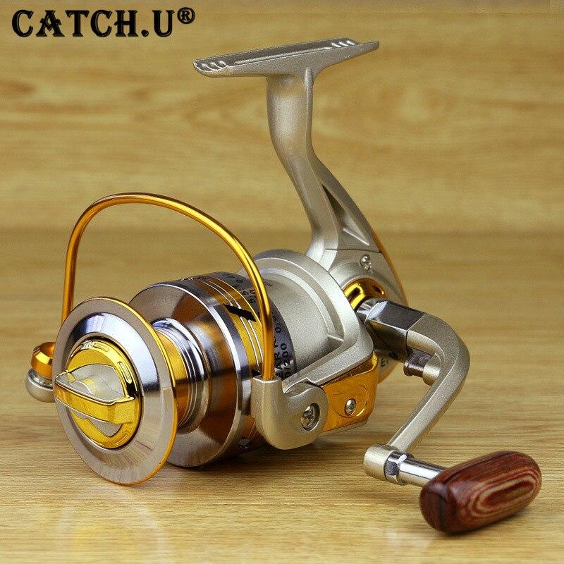 Carrete de Metal Hilado Carrete de Los Pescados de Pesca de Agua Salada Carrete