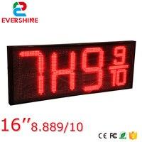 Shenzhen good price 7 segment 8.889/10 digits digital number led display board