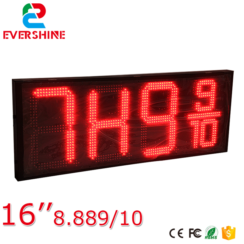 Shenzhen good price 7 <font><b>segment</b></font> 8.889/10 digits digital number led display board image