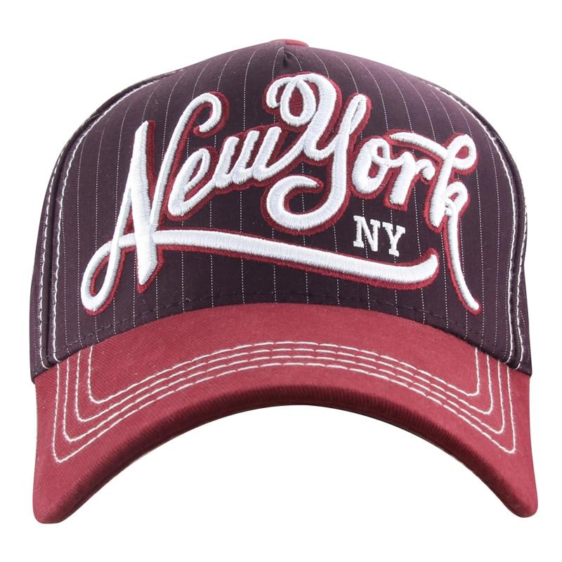 MINAKOLIFE hot retro baseball cap fitted cap snapback hat for men women gorras casquette Ny newyork letter embroidery cap