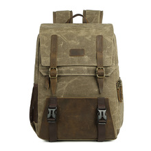 Waterproof Canvas Digital Slr Camera Backpack 15.6 Inch Usb Charging For Lens And Laptop