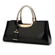 High Quality Patent Leather Women Bag Travel Shoulder bag for women 2020 Tote Italian Leather Handbags Sac A Main bolsa feminina