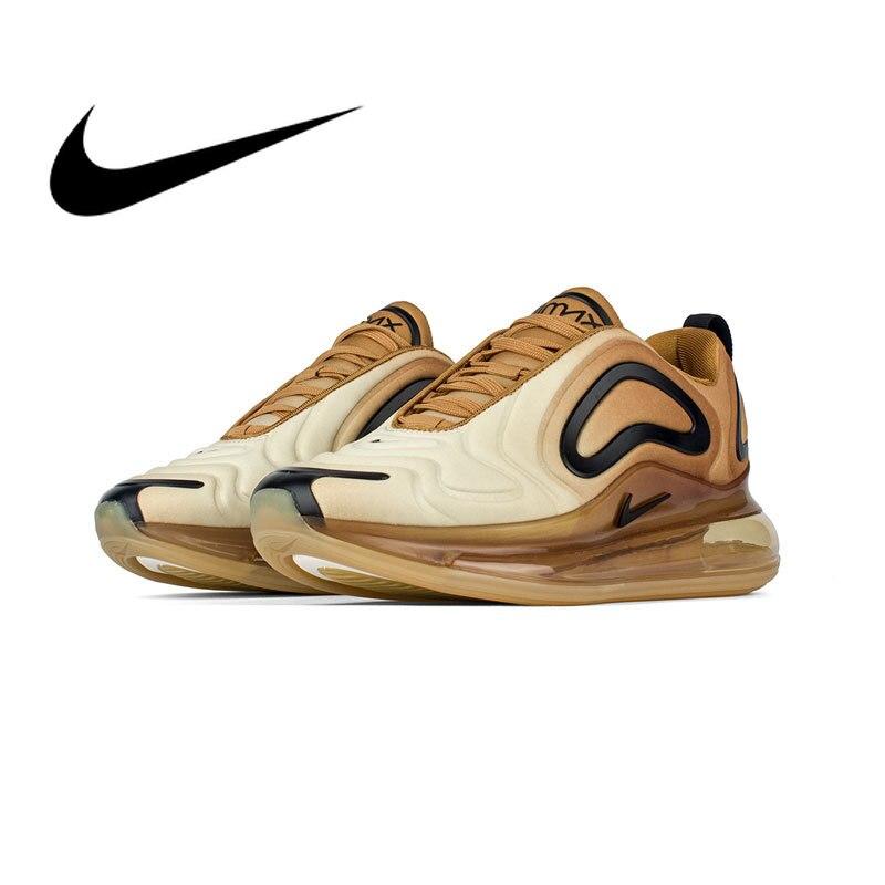 Оригинальный Nike Оригинальные кроссовки Air Max 720 Мужская Спортивная обувь комфортный массаж спортивные кроссовки 2019 весной новый список