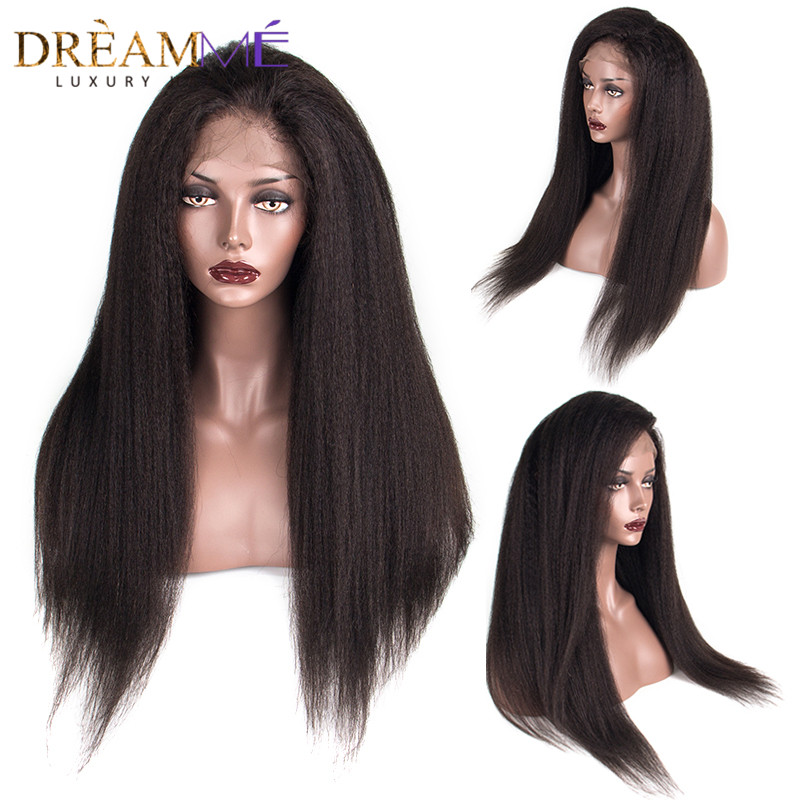 kinky straight human hair wigs (5)