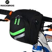 ROCKBROS Bike Bag Bicycle Front Bag Waterproof Bike Handlebar Bags Multifunctional High Capacity Bike Bag For