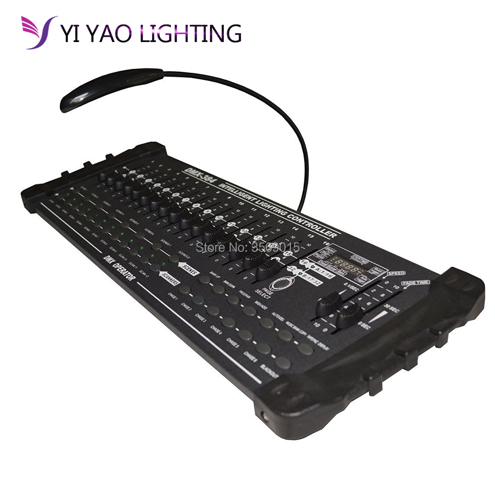 384 DMX 512 Stage Controller Lighting Laser Projector Party Pub Night Club DJ KTV