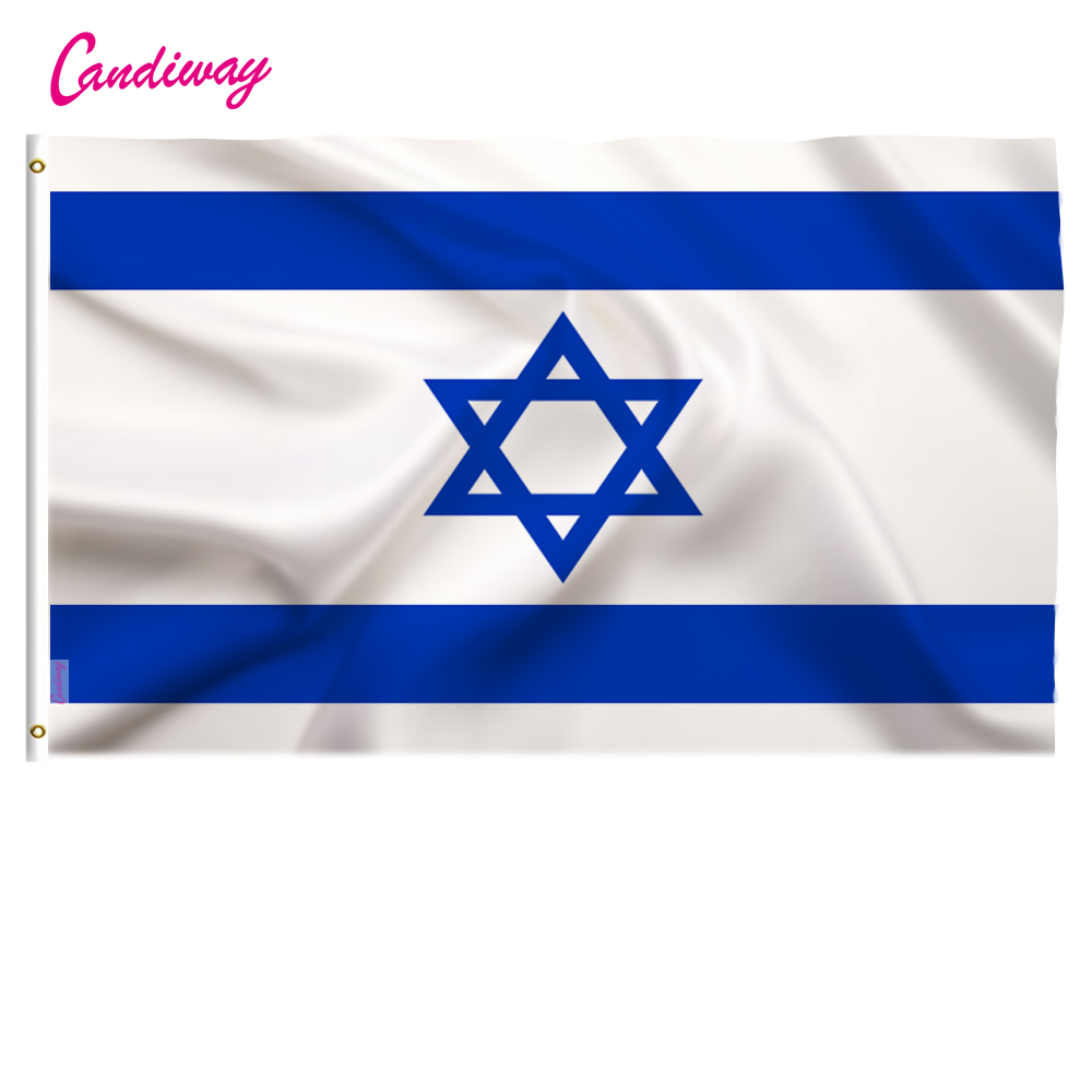 US $2 96 31% OFF Israel flag 3*5 feet  polyester flag 90*150cm big banners  Israeli flag ,Isreal flag banner-in Flags, Banners & Accessories from Home