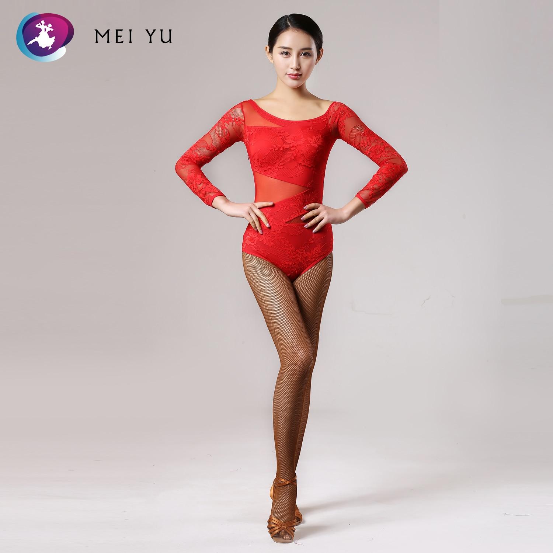 Geleerd Mei Yu-143 Latin Moderne Dans Top Waltzing Tango Cha Cha Ballroom Kostuum Turnpakje Vrouwen Lady Dancewear Avond Party Jurk Top Duurzame Modellering